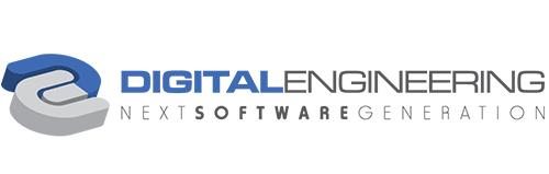 digital engineering logo